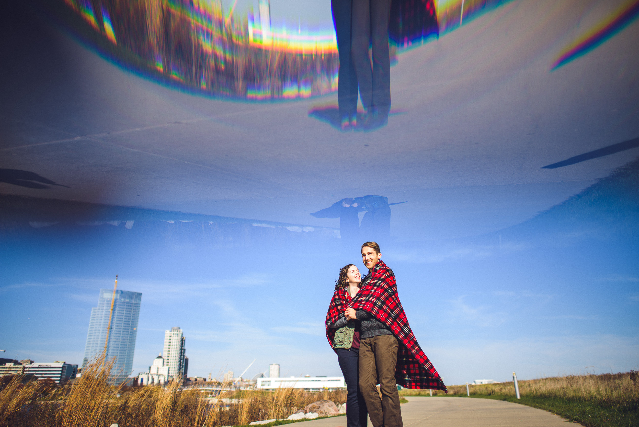 01-couple-in-love-during-milwaukee-engagement-photos